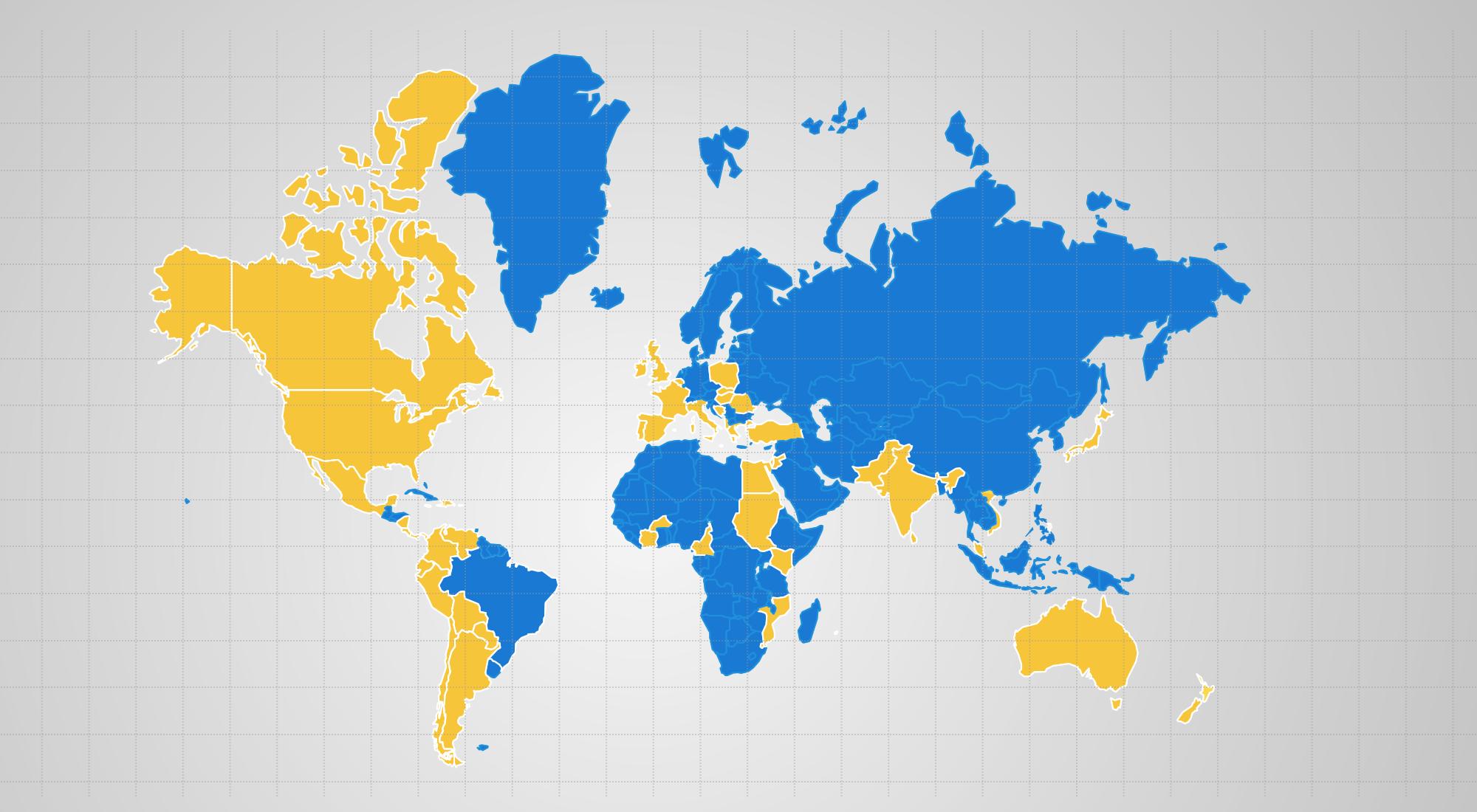 Mapa do Mundo
