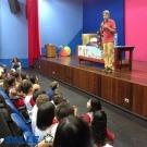 Colégio Recebe o Escritor Jonas Ribeiro