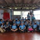 Colaboradores da escola foram homenageados pela turma da 3 ª série do Ensino Médio