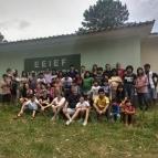 Almoço Solidário na Comunidade Indígena Kaingang