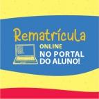 Processo de rematrícula online até 28/12
