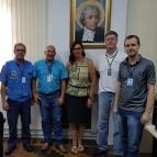 Equipe Diretiva se reúne com gestores da EPTC
