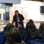 8º ano tem encontro com o escritor Daniel Munduruku