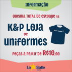 QUEIMA TOTAL DE ESTOQUE na Loja K&P Uniformes