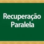 Calendário de Provas Recuperação Paralela