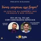 Projeto Diálogos acontece hoje às 19h!
