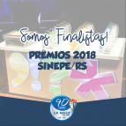 Somos finalistas dos Prêmios 2018 do SINEPE/RS