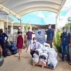Pastoral fez entrega das doações da Gincana La Salle