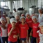 Visita à fábrica de sorvetes