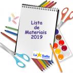 Lista de Materiais e Calendário Escolar 2019