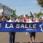 Colégio La Salle Xanxerê no Desfile Cívico