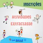 Inscrições para as Atividades Extracurriculares 2018