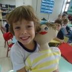 Miró Estrela vira boneco para ensinar valores