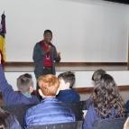 5º ano recebe haitiano para falar sobre imigração