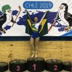 Aluna é ouro em torneio internacional de patinação