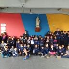 Grupo de voluntariado La Salle Dores Visita a Escola