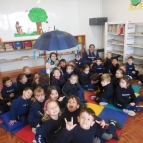 Volta às aulas especial das turminhas da Creche!