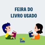 Santo Antônio promove a Feira do Livro Usado