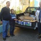 Entrega de doações arrecadadas no Dia do Estudante