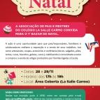 APM convida para 1º Bazar de Natal