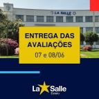 Entrega das Avaliações e Boletins - 07 e 08/06