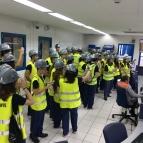 Visita à Usina Termelétrica da Ponta Negra