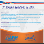 Brechó Solidário da APM recebe doações até 6ªf