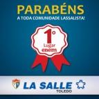 La Salle Toledo é 1º lugar no ENEM 2016