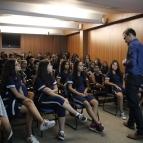 Acolhida aos novos alunos do EF II!