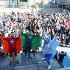 """Educação Infantil celebra projeto """"Supersaudáveis"""""""