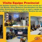 Visita Equipe Provincial