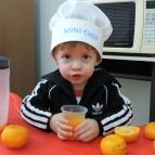 MiniChefs da Creche 2 ensinam receitas saudáveis