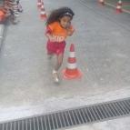 Atividade física anima as crianças no fim do ano