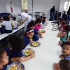 Inauguração do refeitório da Escola