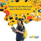 Reserva de matrículas para novos alunos para