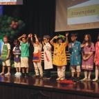 1º anos participam da Noite da Alfabetização