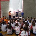 Escolinha de Vôlei participa de integração em Canoas