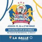 Participe da Copa do Mundo La Salle 2018