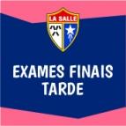 Exames Finais - Tarde