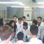 Alunos visitam Laboratório de Anatomia da Universide