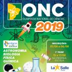 Estudantes Dorenses participarão da ONC 2019