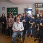 Grupo de Jovens faz doação de alimentos ao Rim Viver