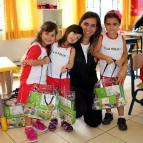Entrega dos Kits da Mind Lab na Educação Infantil