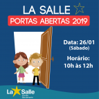 La Salle abre as Portas para 2019