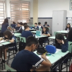 Batalha Naval na aula de Geografia
