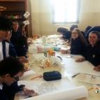 Educandos da 1ª série estudam a Arte Rupestre