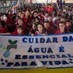 Passeata pelo Dia Mundial da Água