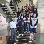 LSSA recebe a visita de alunos da Rede La Salle