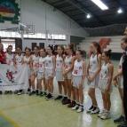 Basquete feminino Sub 15 vence 1ª fase do Estadual