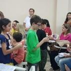 Primeira Eucaristia - Preparação de pais e alunos